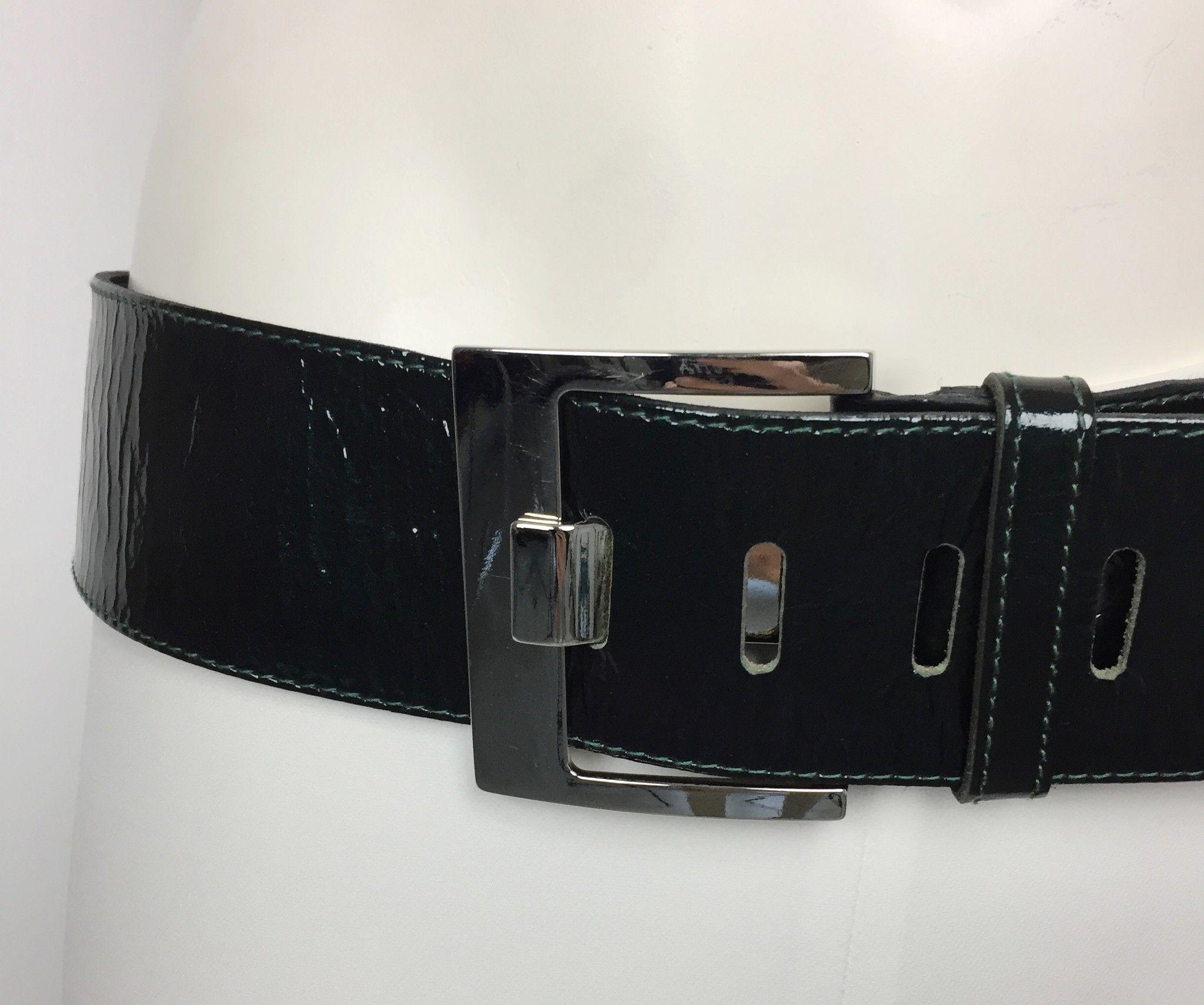 Cintura LadyBug in Vernice con Fibbia in Acciaio Cod.9845