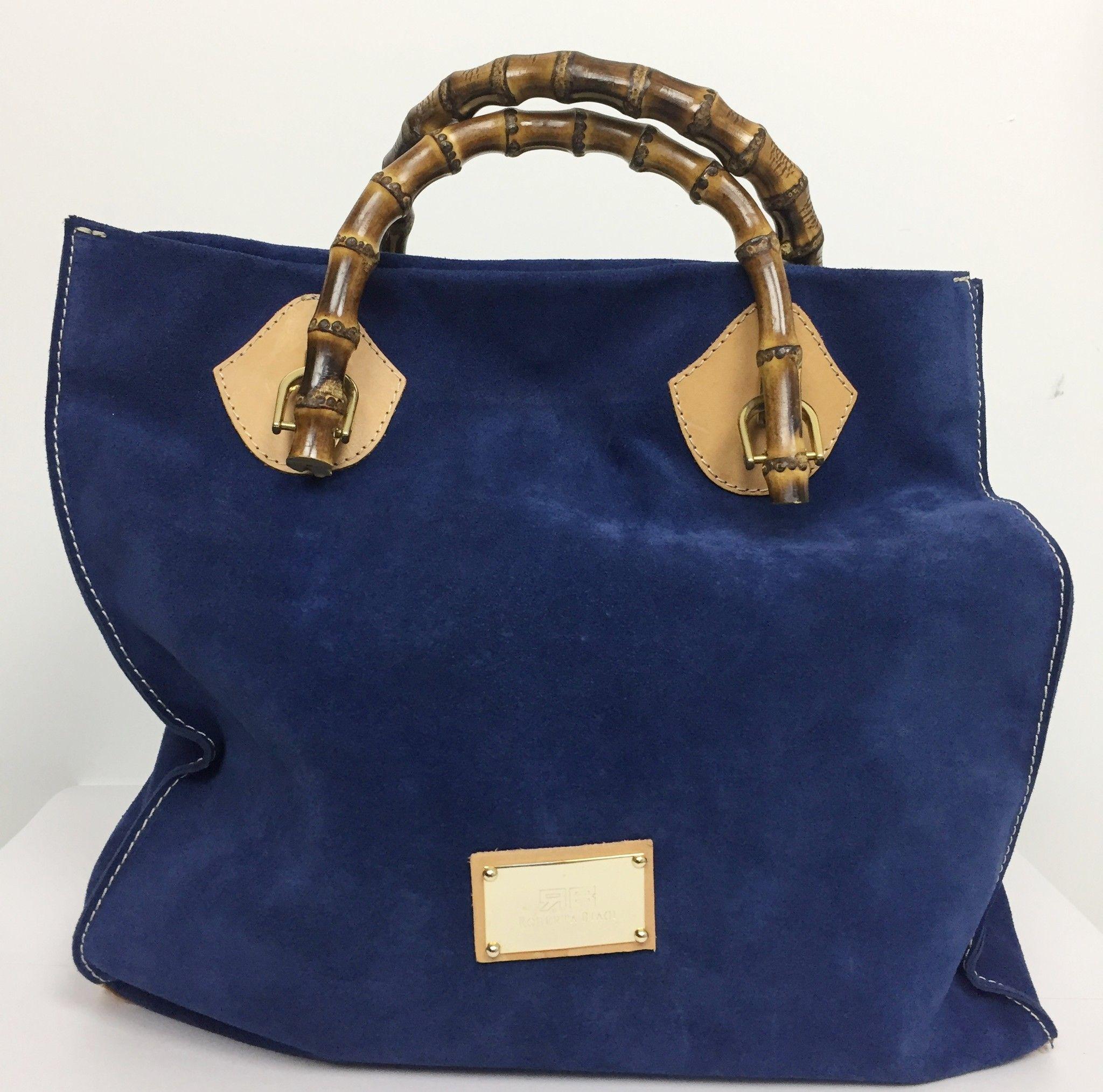Roberta Biagi Suede Leather Bag Cod.03158
