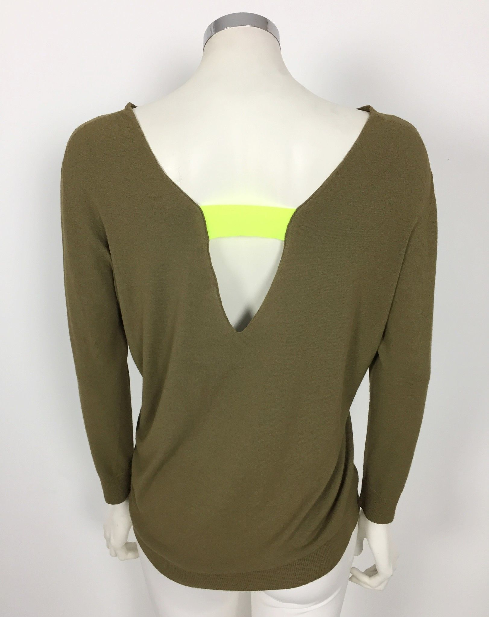 LadyBug Front and Back V-neck Over Sweater Cod.2179