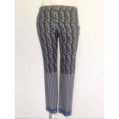 Pantalone Atos Lombardini in lisca di pesce bicolore Cod.AI473