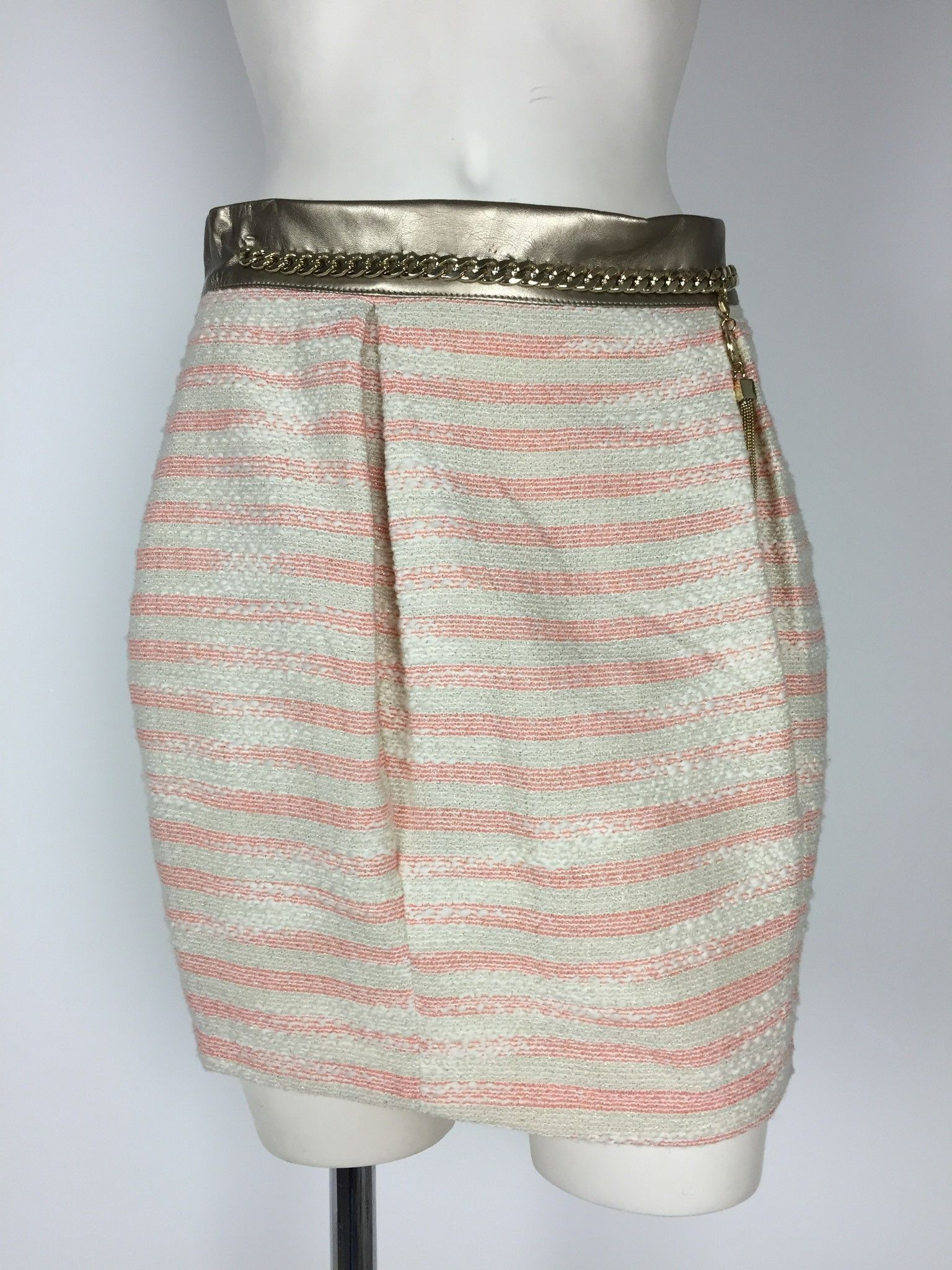 Roberta Biagi Mini Skirt with Golden Chain Cod.GON0190