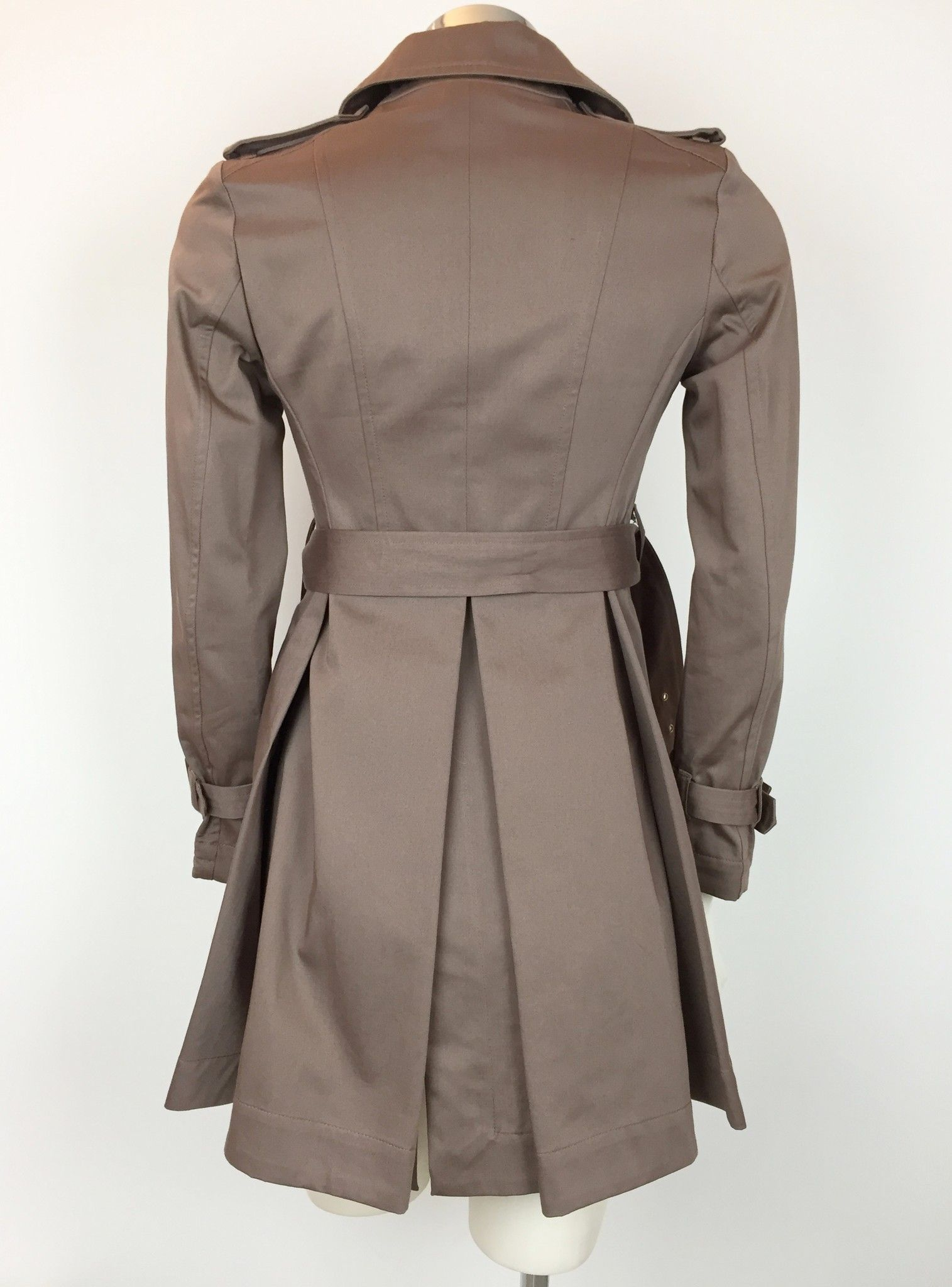 Katia G. Double Breasted Coat with Belt Cod.K38509