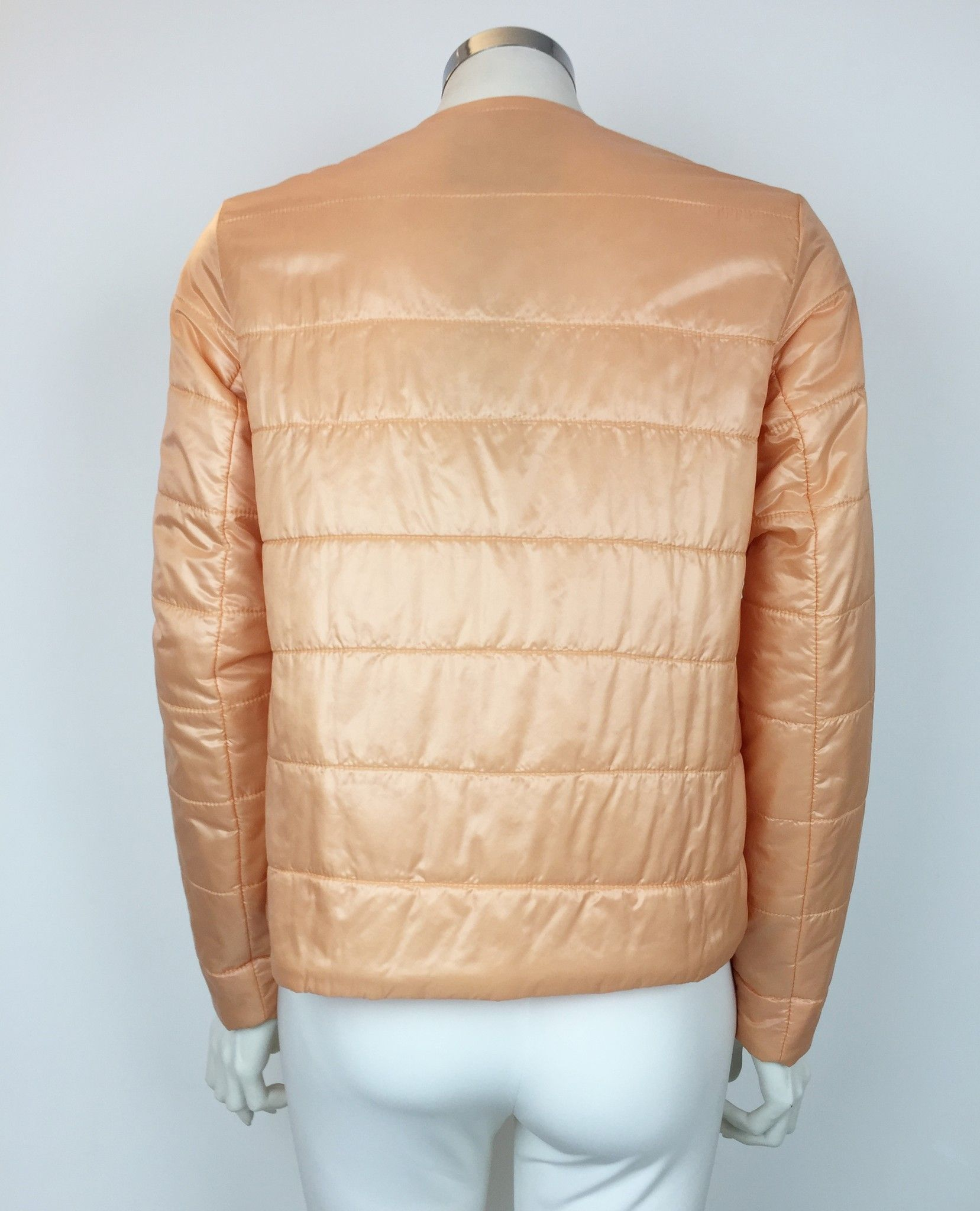 Katia G. Long Sleeve Down Jacket with Golden Zip Cod.K38502