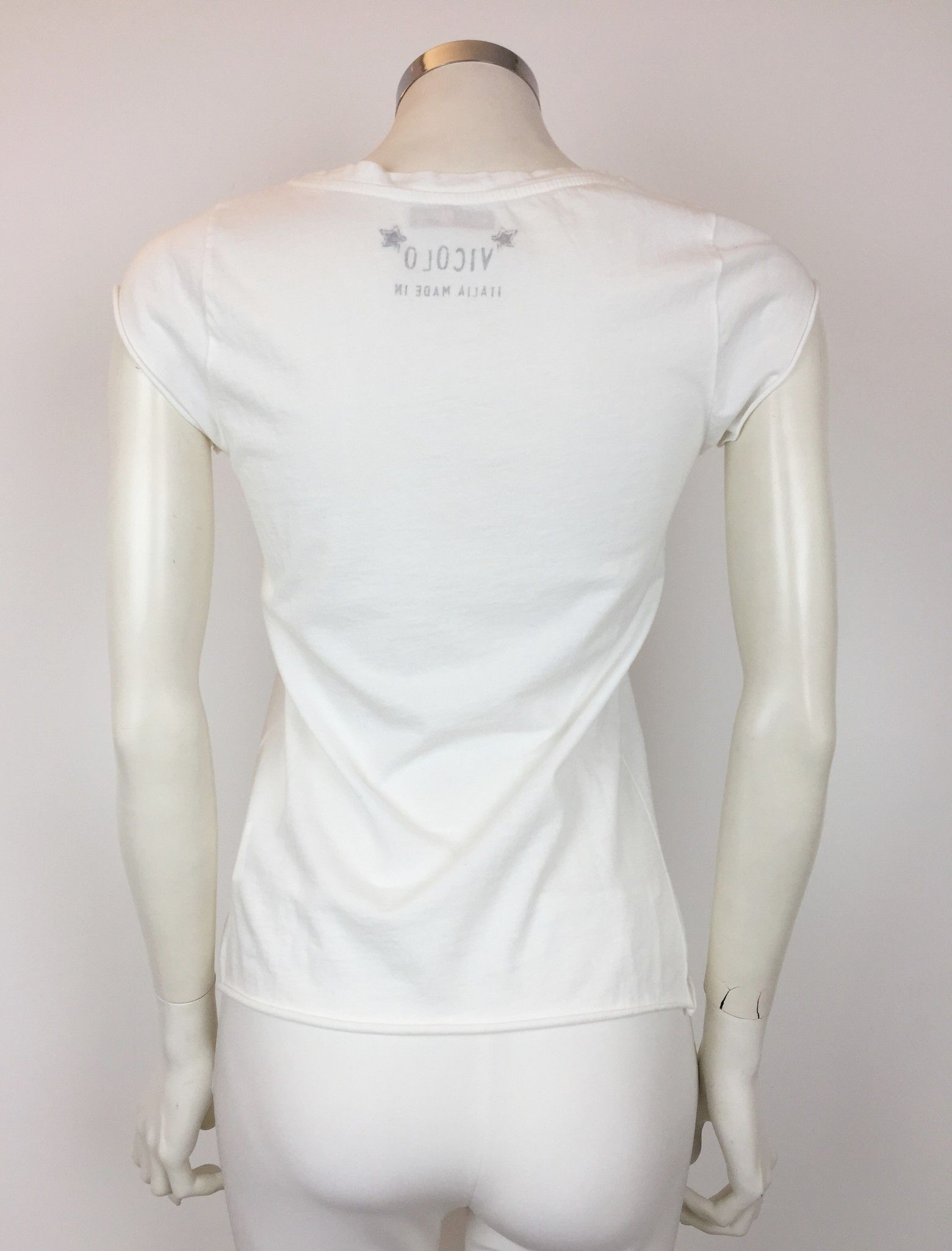 Vicolo Daisy Print T-Shirt Cod.RP0312