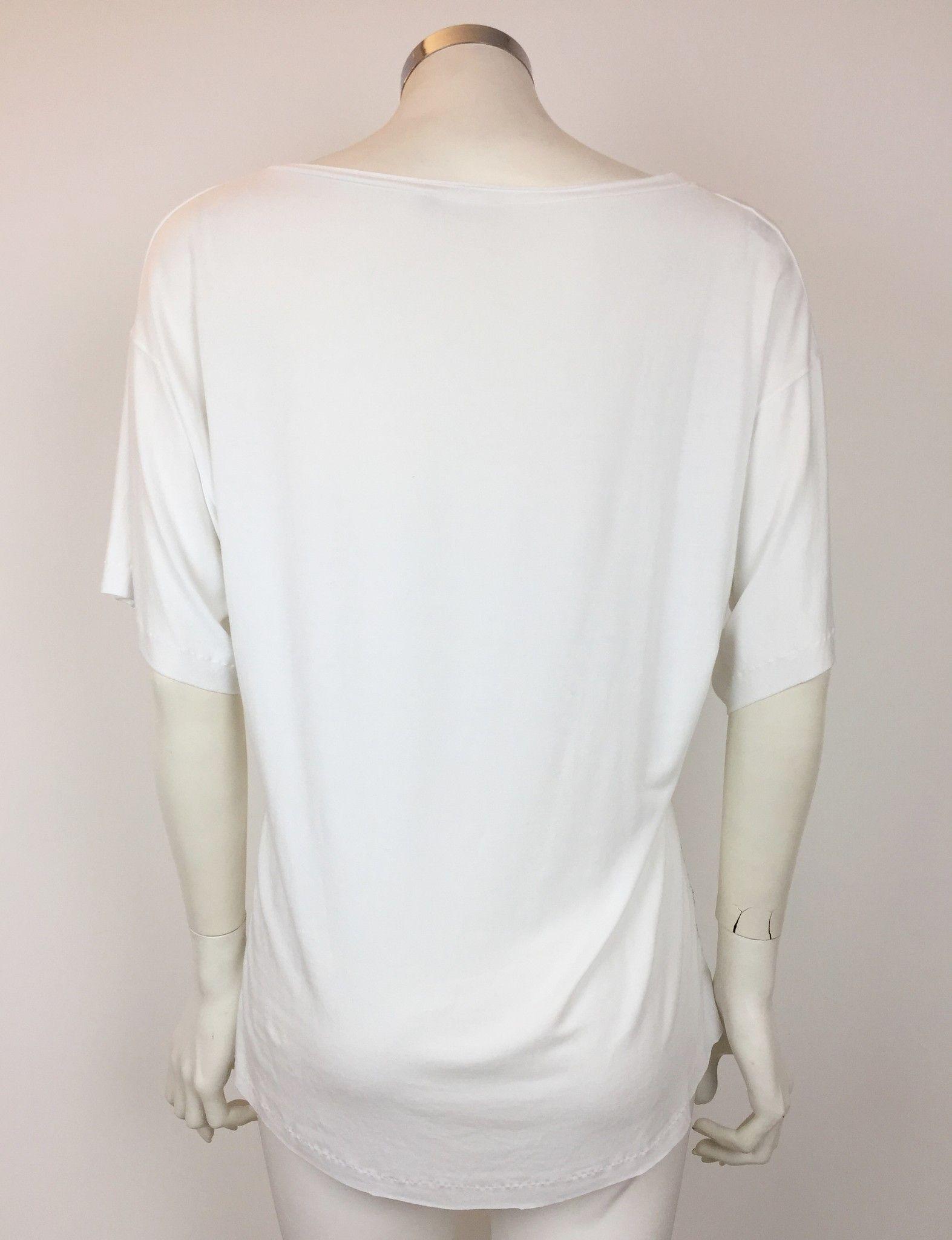 Q-Zee Over Skull Print T-Shirt Cod.412651