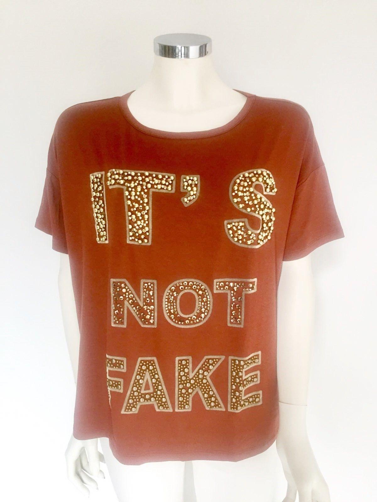 T-Shirt LadyBug Over mezzamanica stampa con borchie e Swarovski Cod.RQ0053