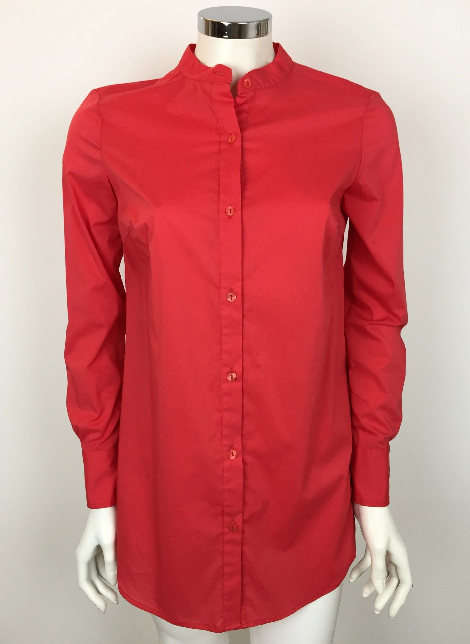 Privè Long Sleeve Mandarin Collar Shirt Cod.M4613
