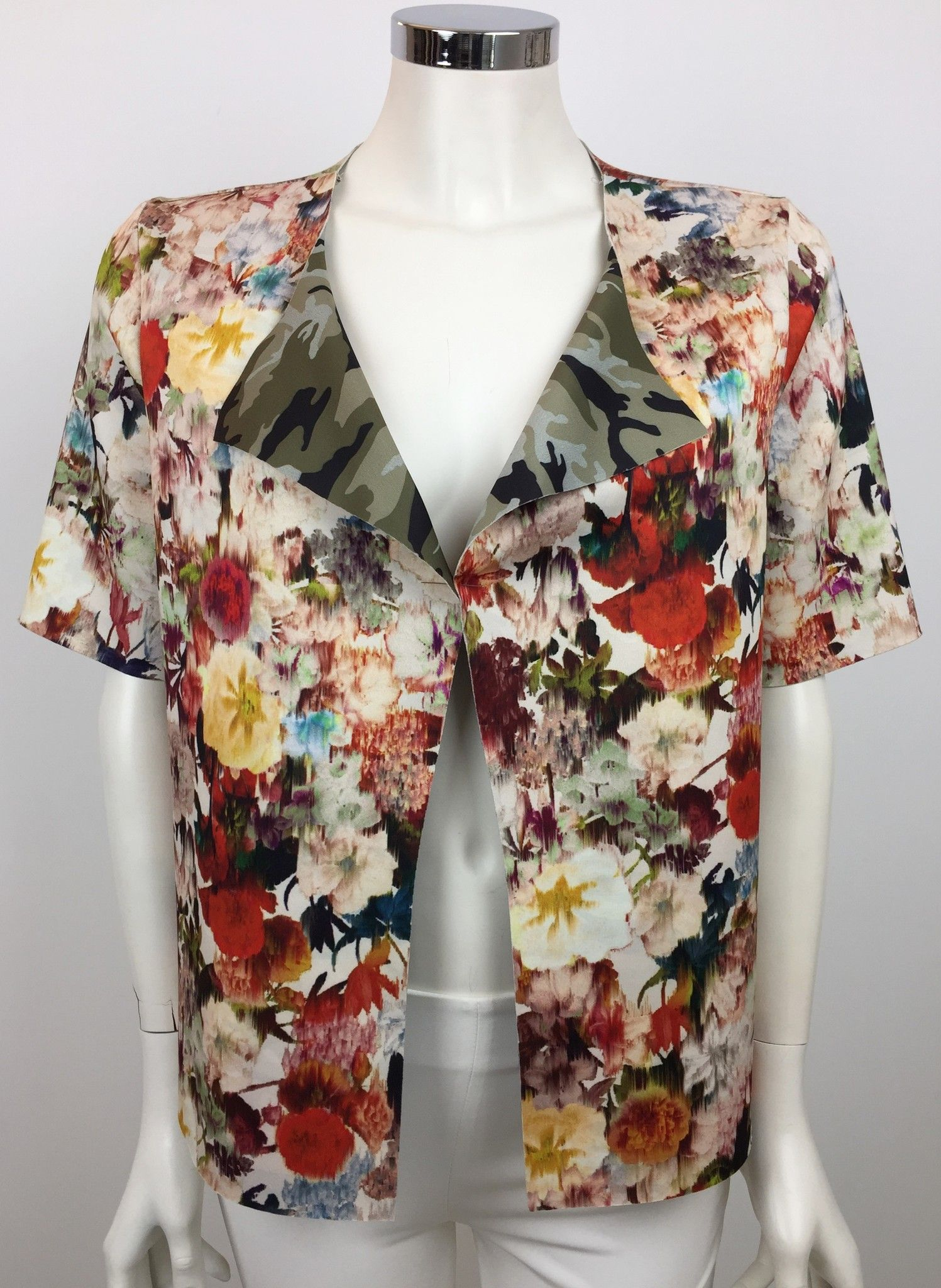 LadyBug Short-Sleeve Floral Fancy Jacket Cod.16131
