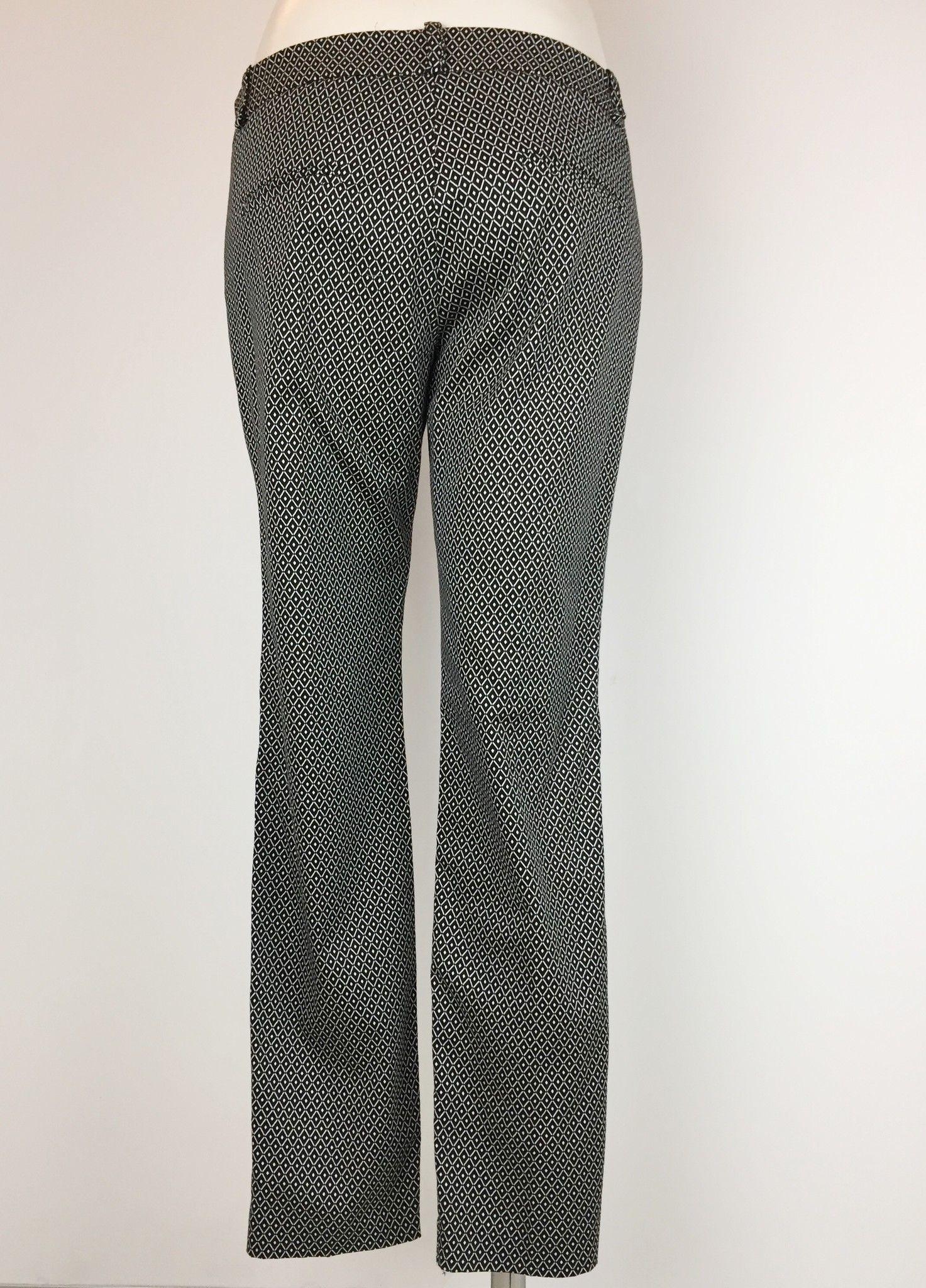 Privè Optical Print Trousers Cod.10621/445