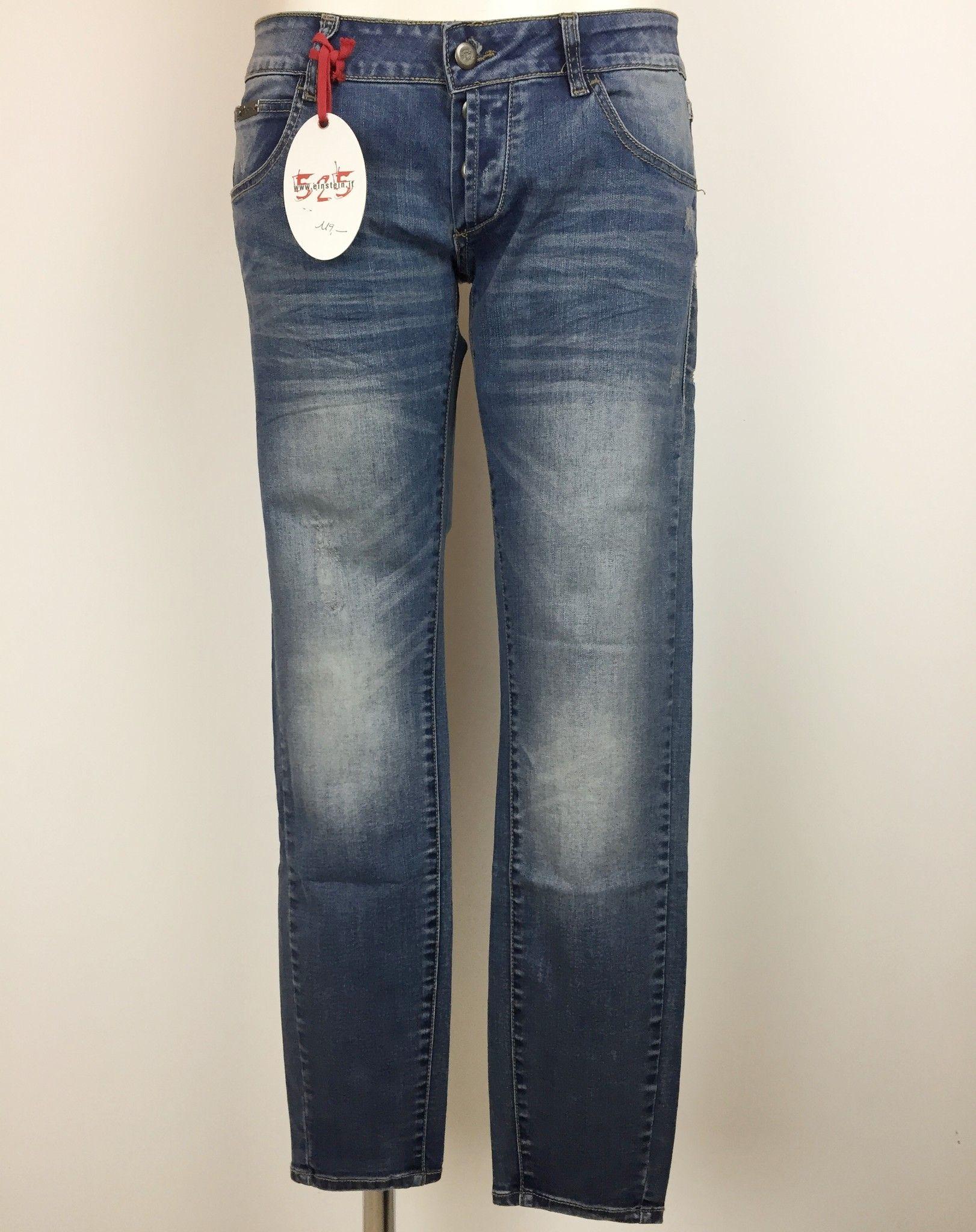 Jeans Sexy Woman Elasticizzati 525 con Cerniere alla Caviglia Cod.P454526