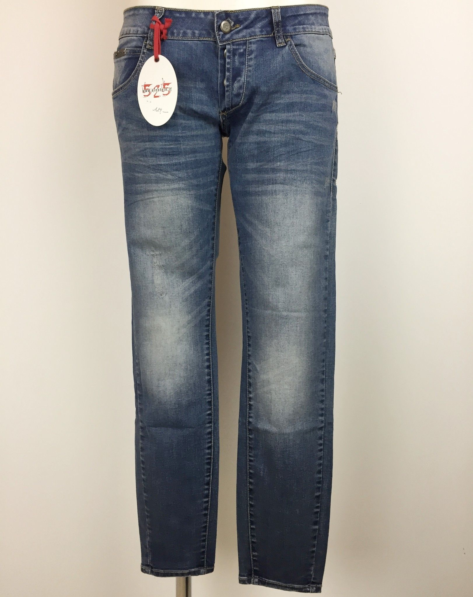 Sexy Woman 525 Stretch Jeans with Ankle Zippers Cod.P454526