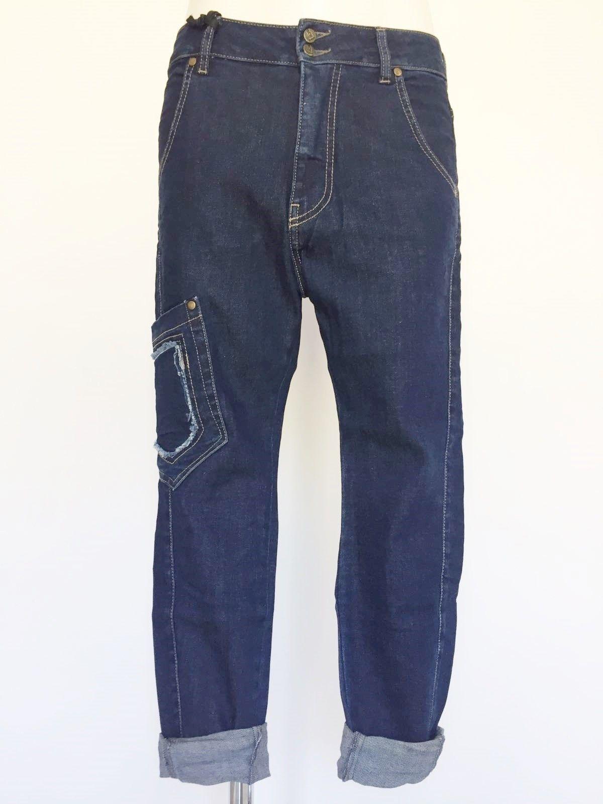 Jeans Sexy Woman mod.Boyfriend tasca laterale Cod.P414900