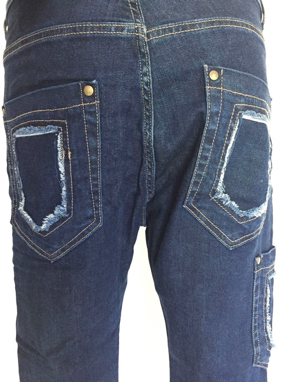 Sexy Woman Boyfriend Model Side Pocket Jeans Cod.P414900