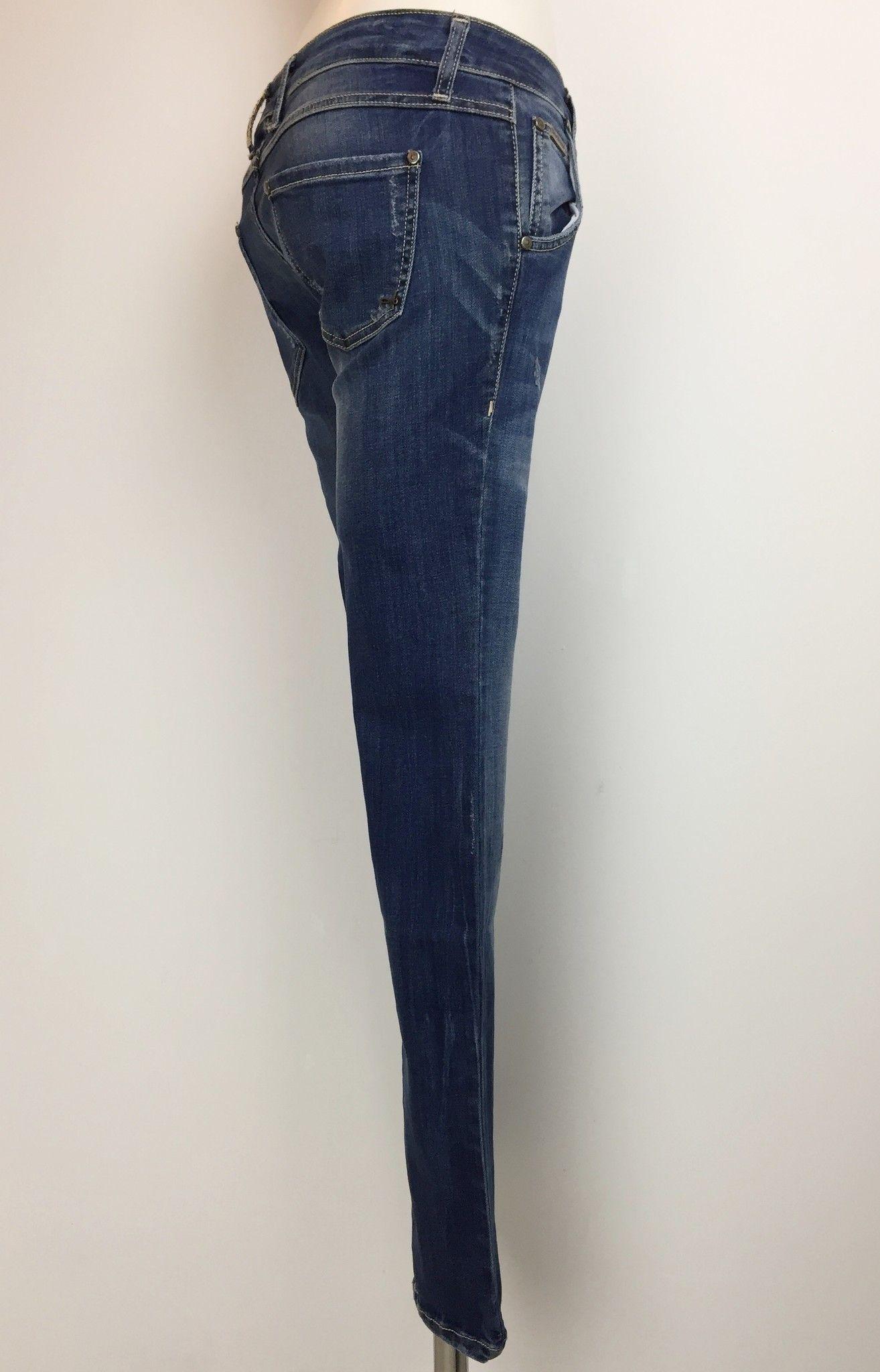 Jeans Sexy Woman Elasticizzato con Doppia Abbottonatura Cod.5006P