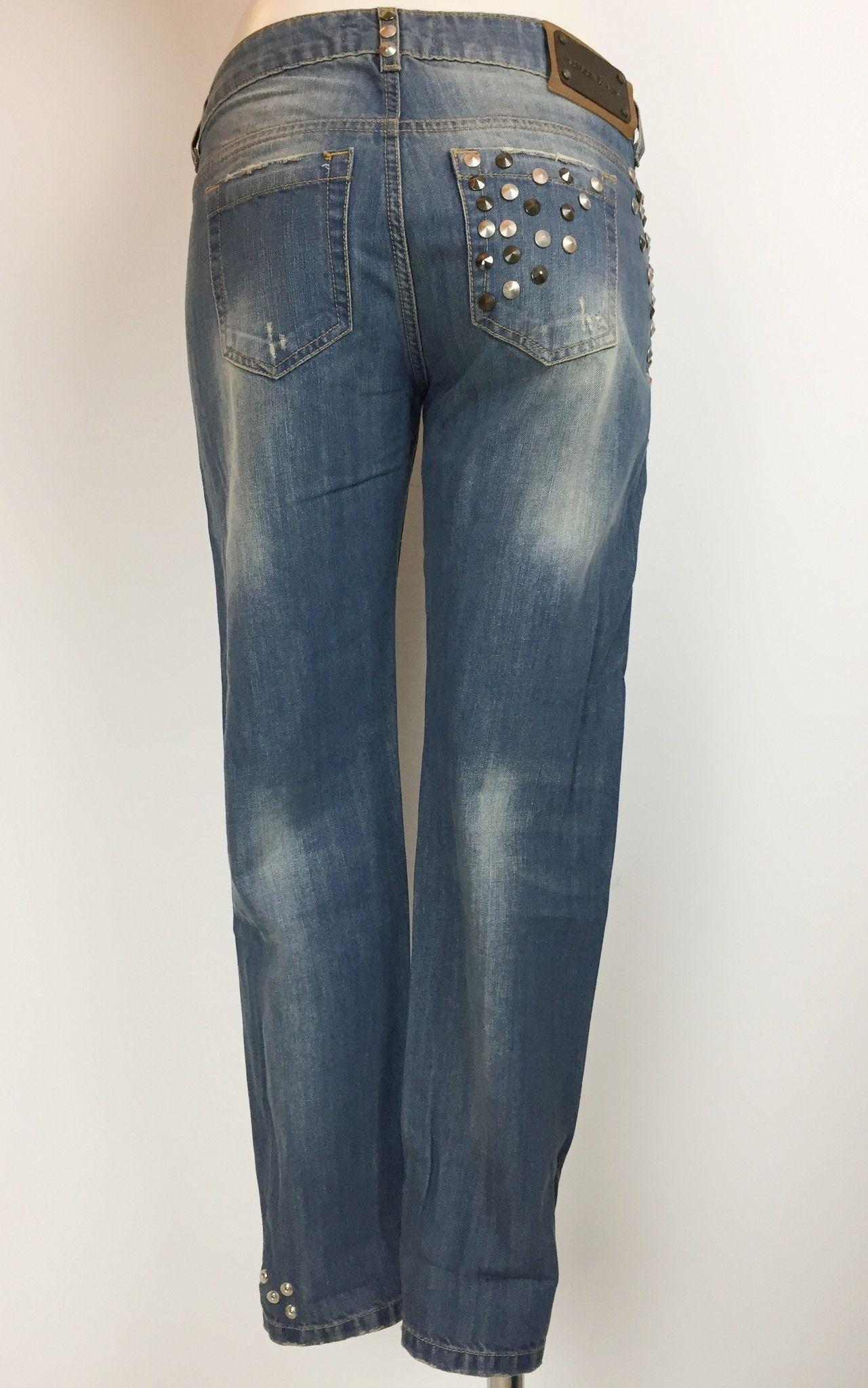 Adele Fado Boyfriend Model Studded Jeans Cod.19922026