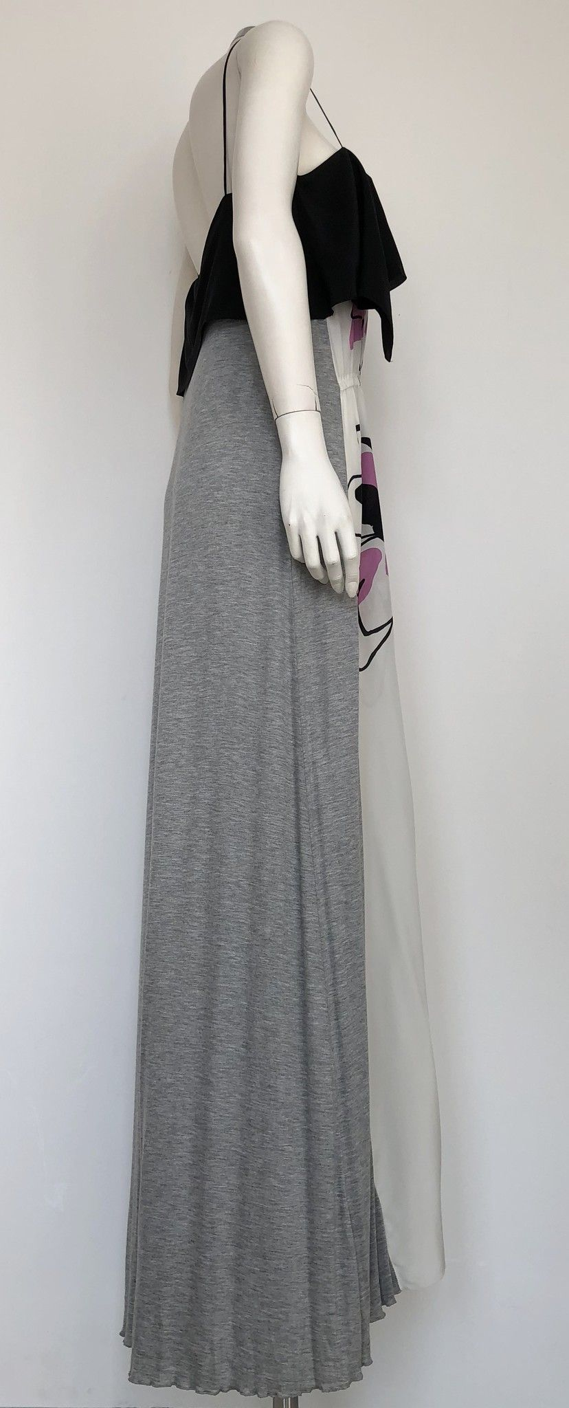 Atos Lombardini Long Dress with Fancy Inserts Cod.PE3300