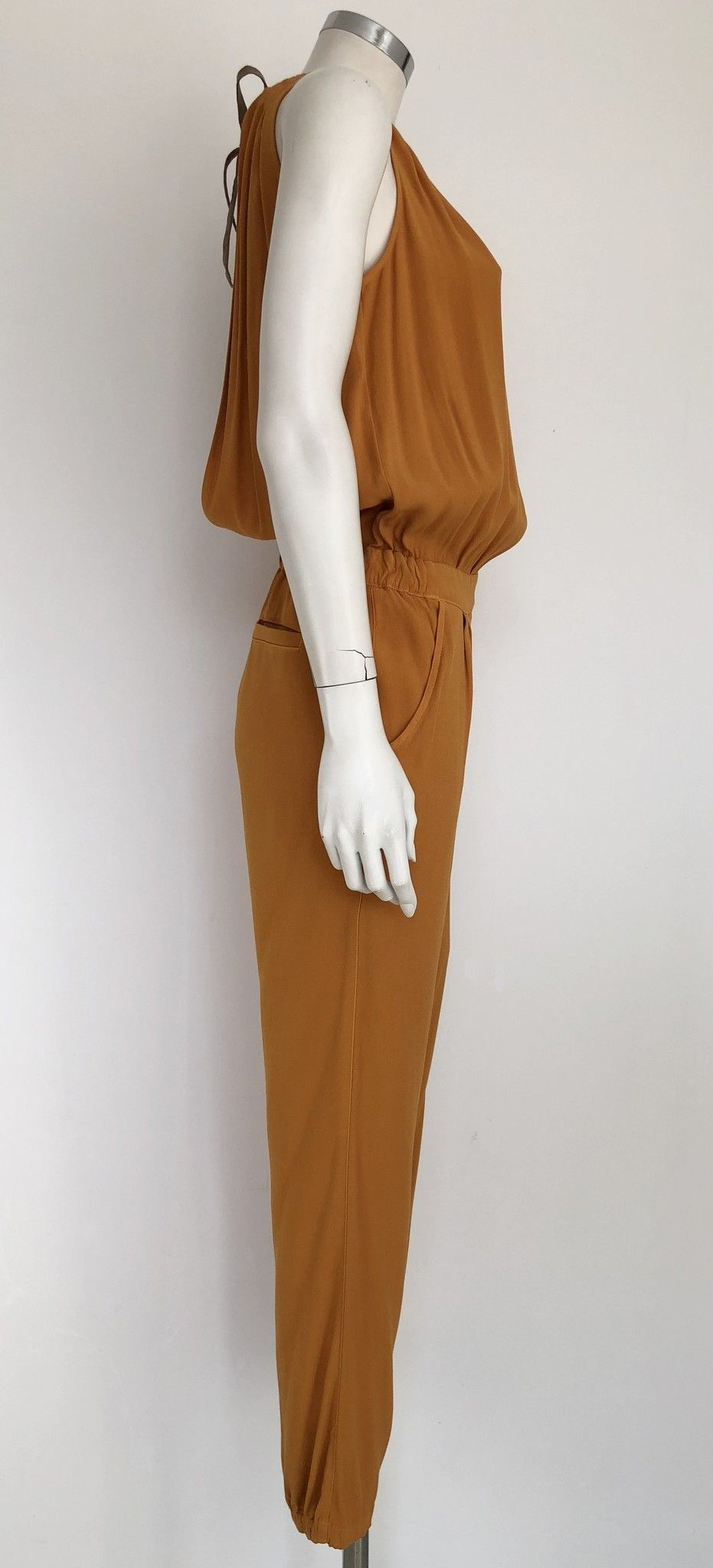 Atos Lombardini Jumpsuit with American Collar Cod.A03102