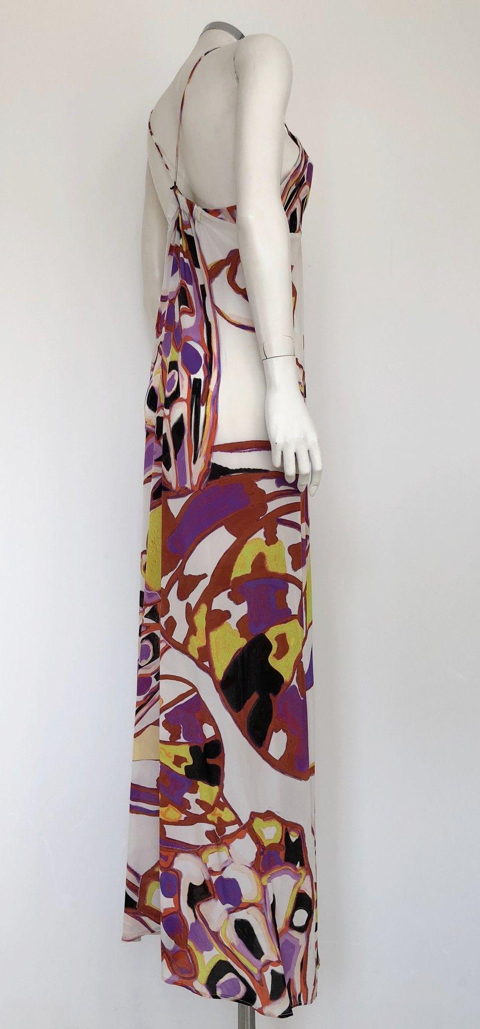 Adele Fado Long Dress in Floral Design Cod.79984