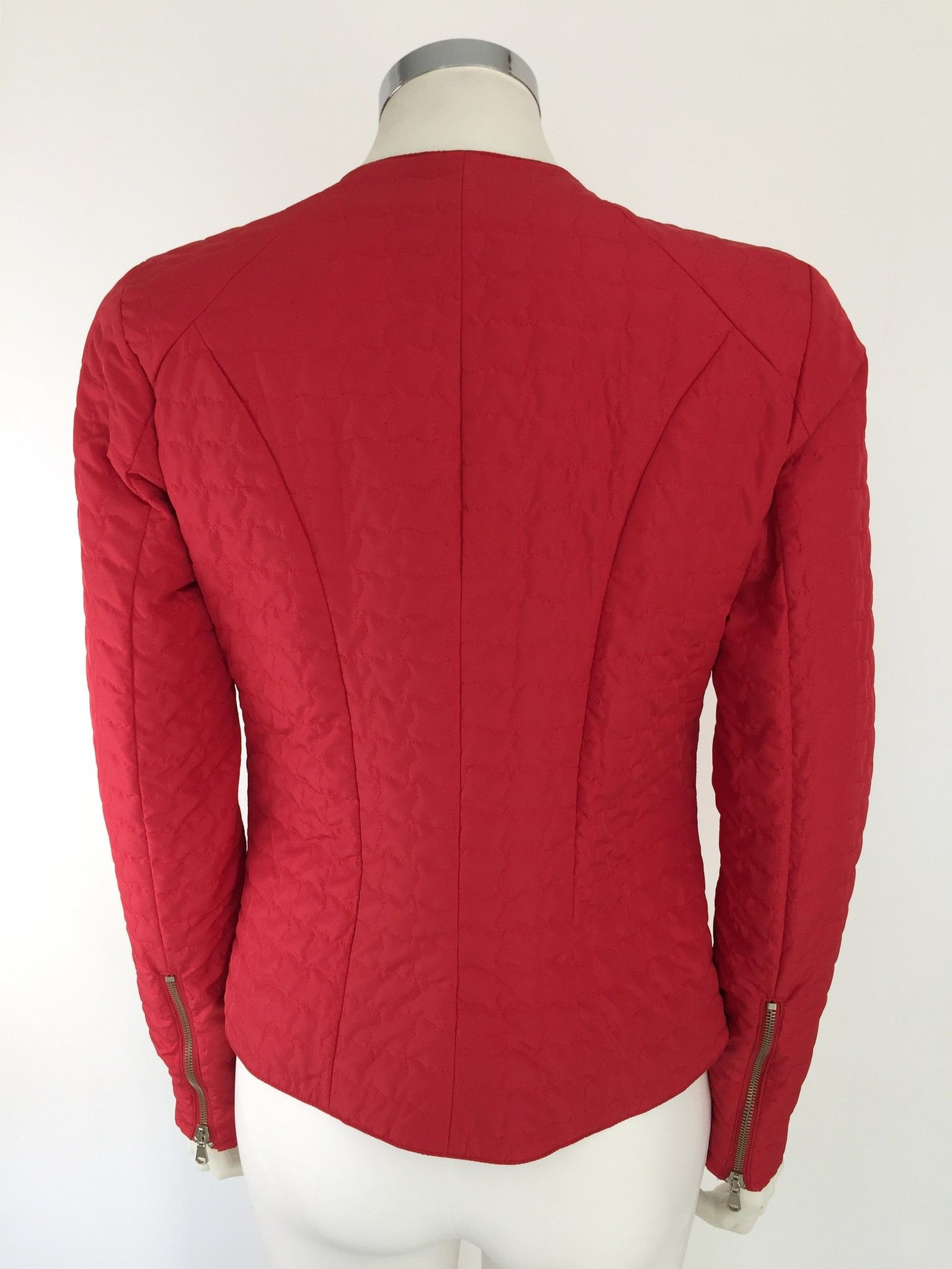 Adele Fado Quilted Jacket with Zippers Cod.CP116