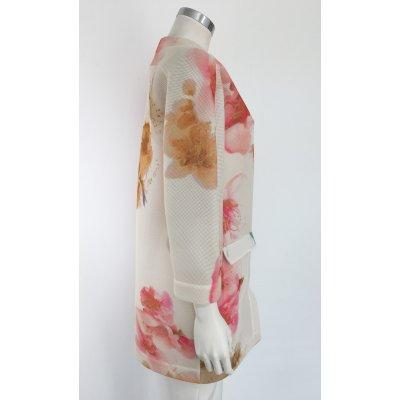Cappottino Katia G. in Tessuto di Rete Fant.Floreale Cod.K/38704