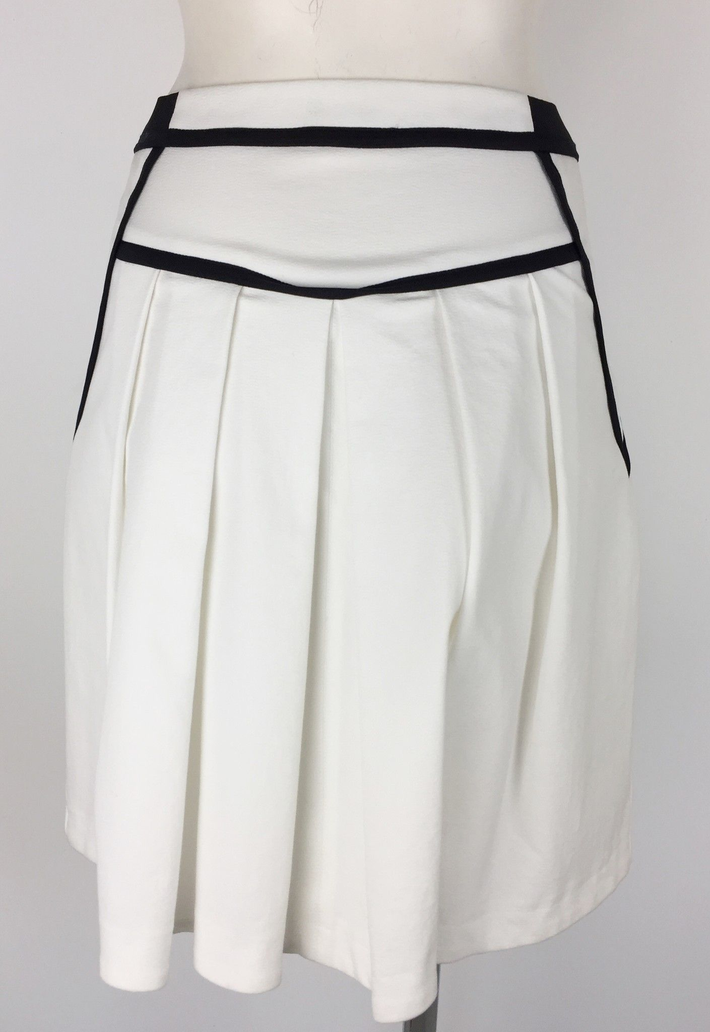 Atos Lombardini Flared Skirt with Black Inserts Cod.TQ1191