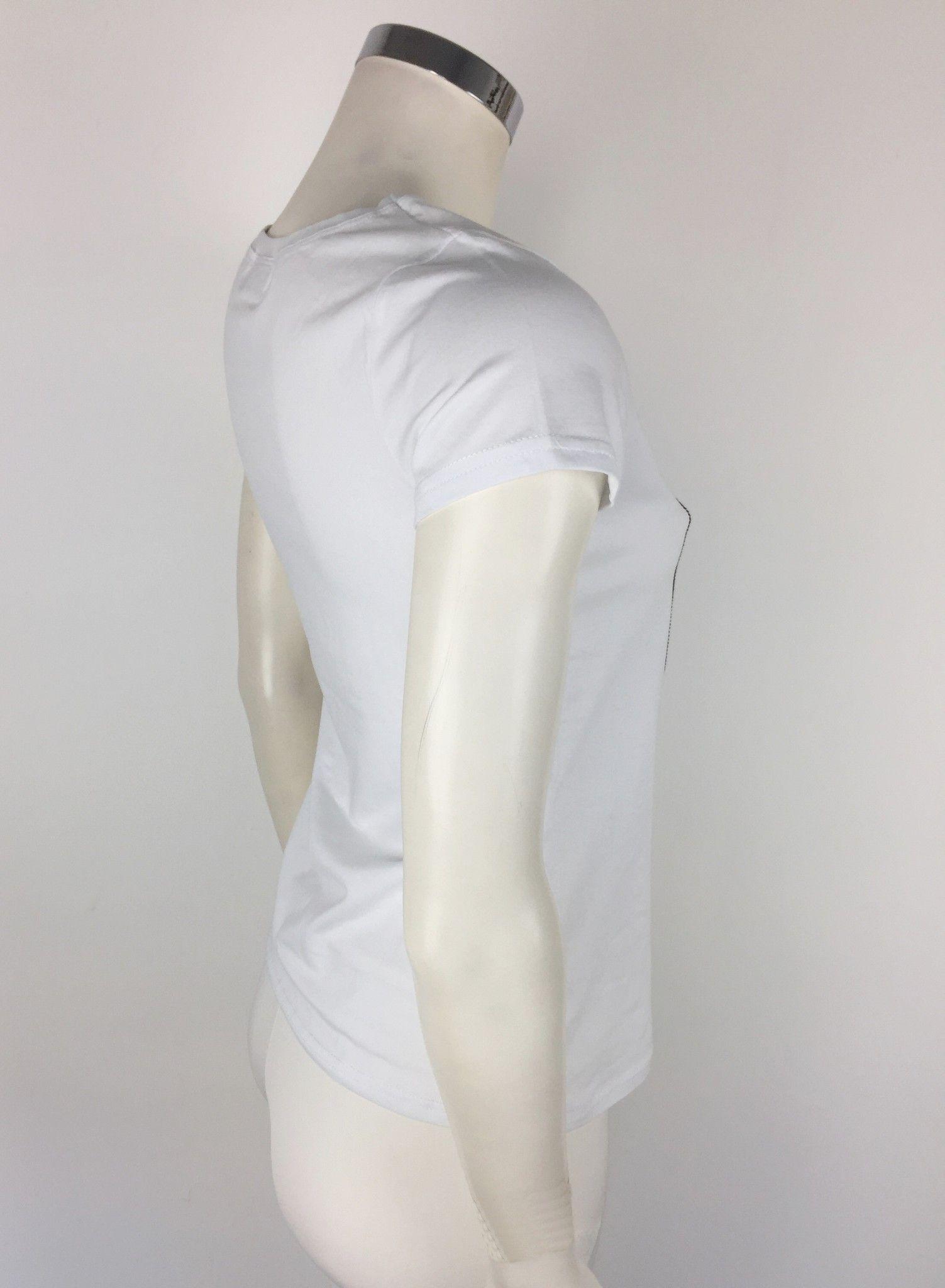 LadyBug Swarovski Skull T-Shirt Cod.78451P