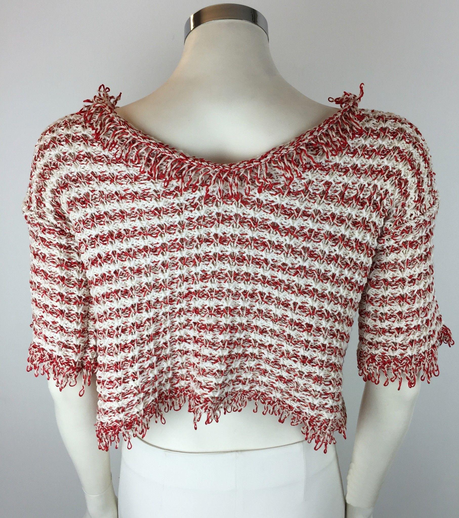 LadyBug Short Sleeve Striped Sweater Cod.3021L