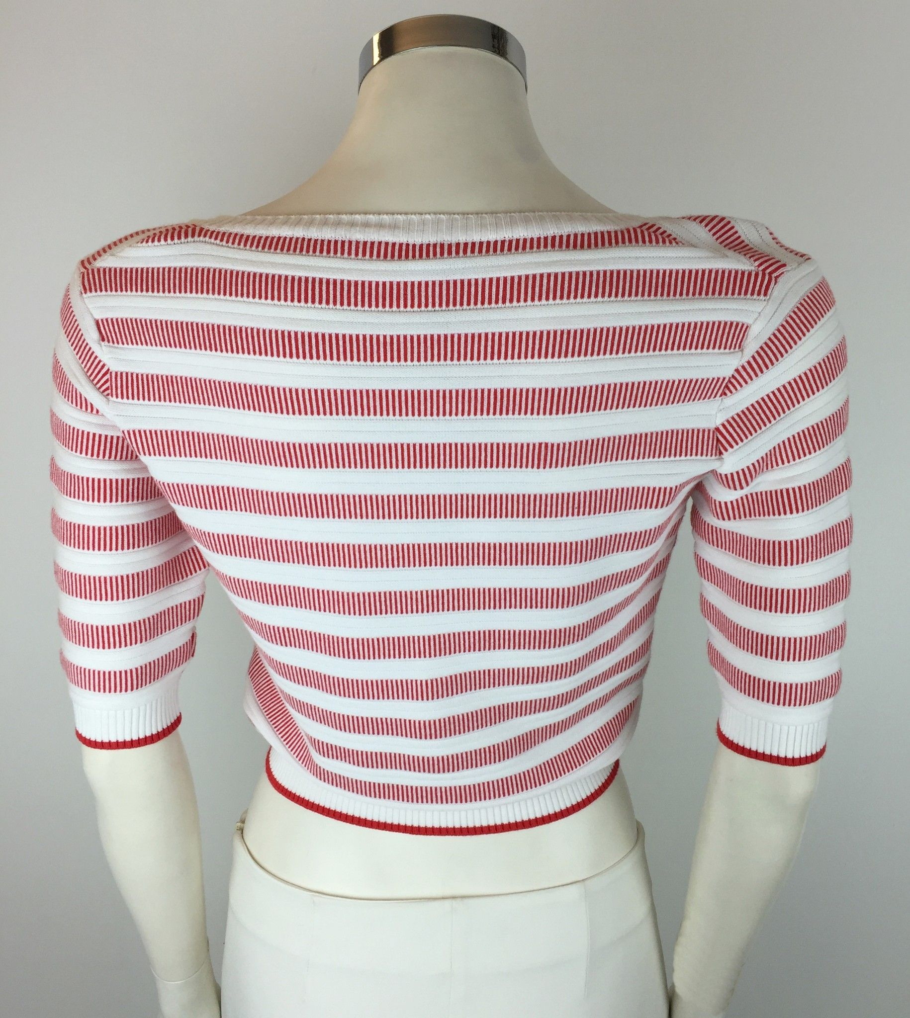 LadyBug Half Sleeve Striped Short Cardigan Cod.2039T