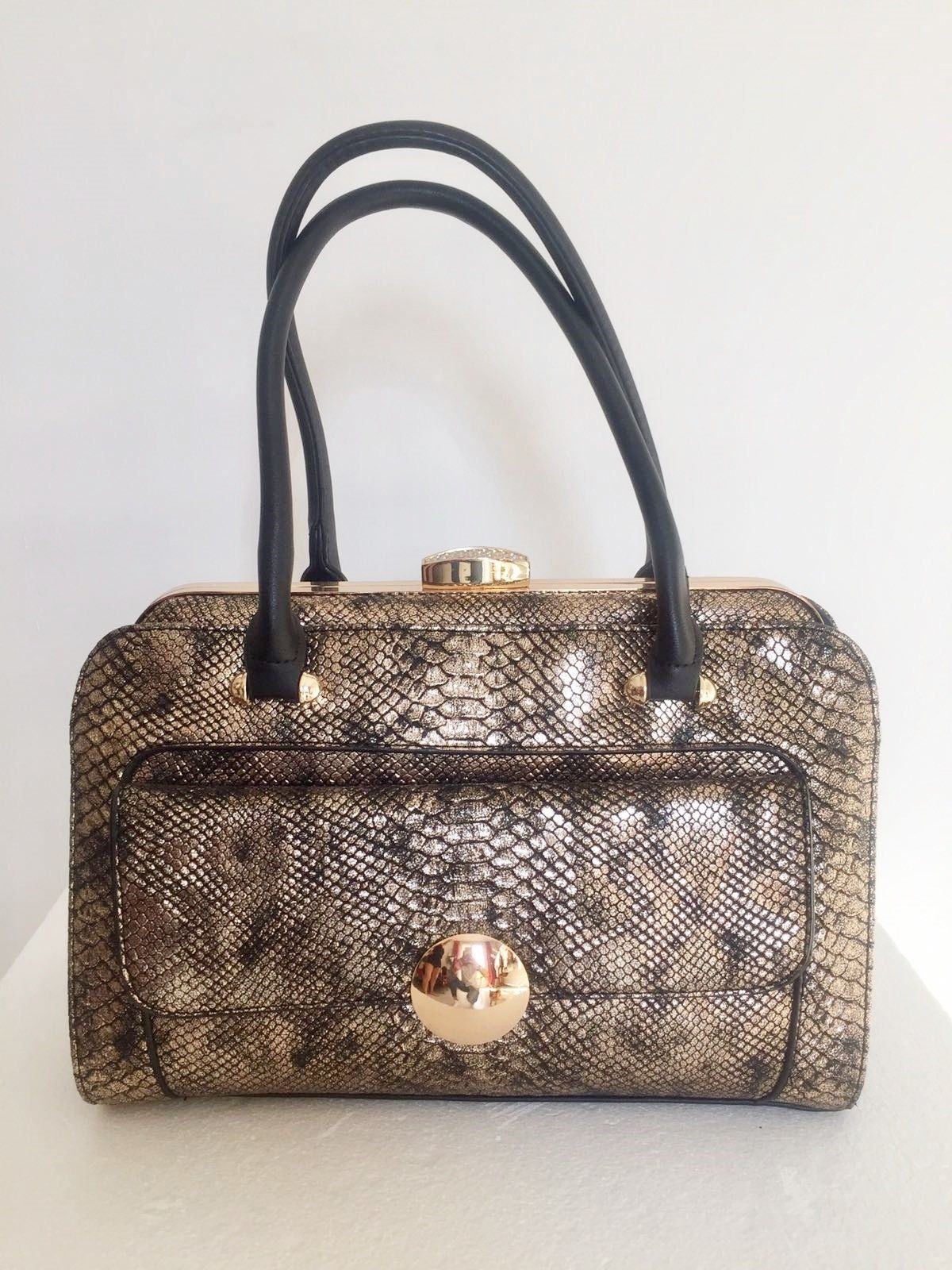 LadyBug Python Print Bag Cod.1014