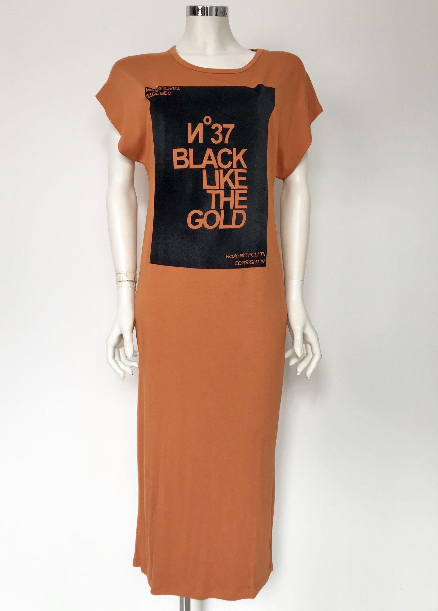 Lady Bug Half Sleeve Long Dress Cod.RQ0108