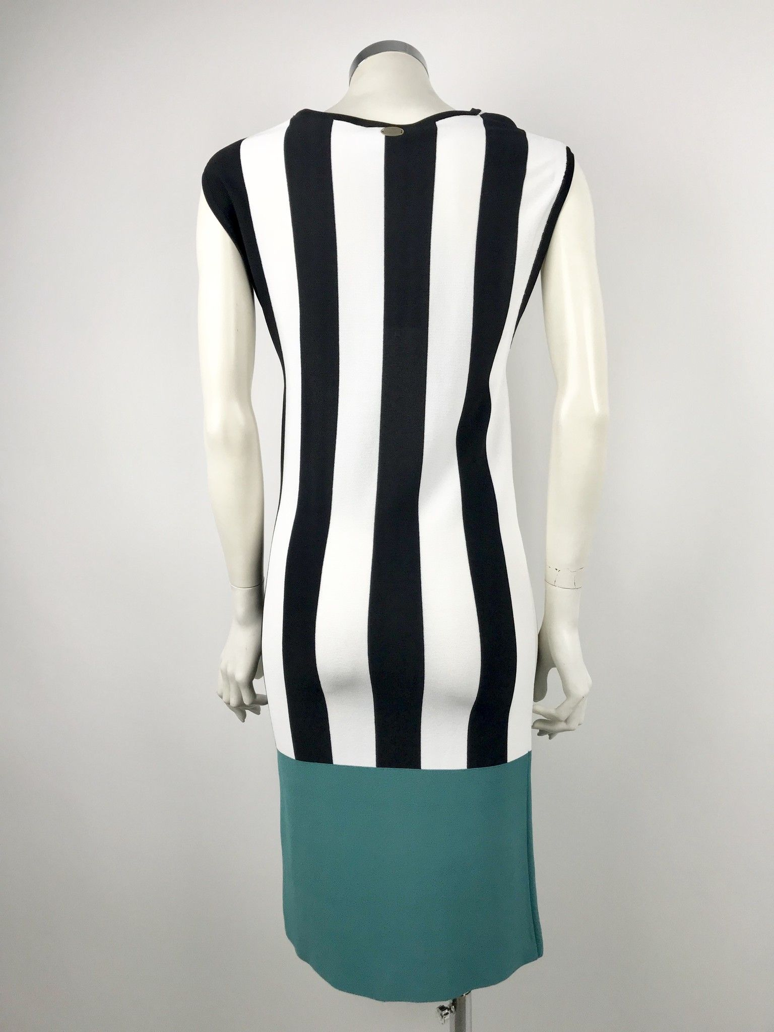 Atos Lombardini Striped Sleeveless Dress Cod.807