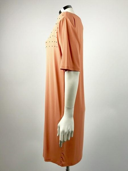 Atos Lombardini Applied Swarovski dress Cod.3122