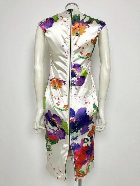 Adele Fado V-neck Floral Fantasy Dress Cod.318Q