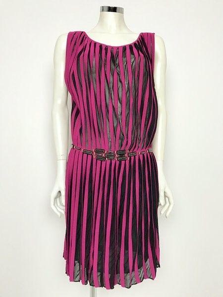 Space Plisse 'Stones Dress Cod.5A42