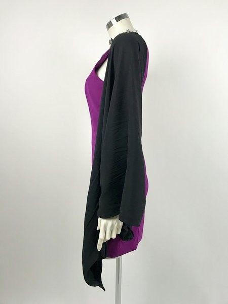 Space Short Dress Zipper Brooch Cod.4605