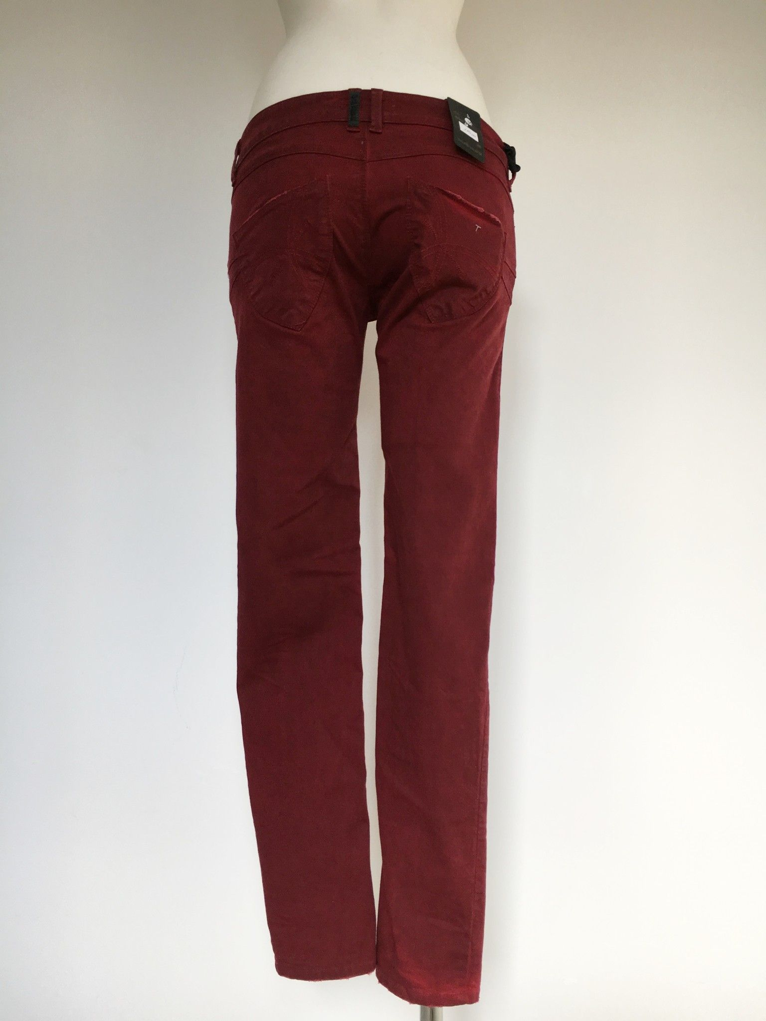 Sexy Woman Long Jeans with Pointy Pockets Cod.4811