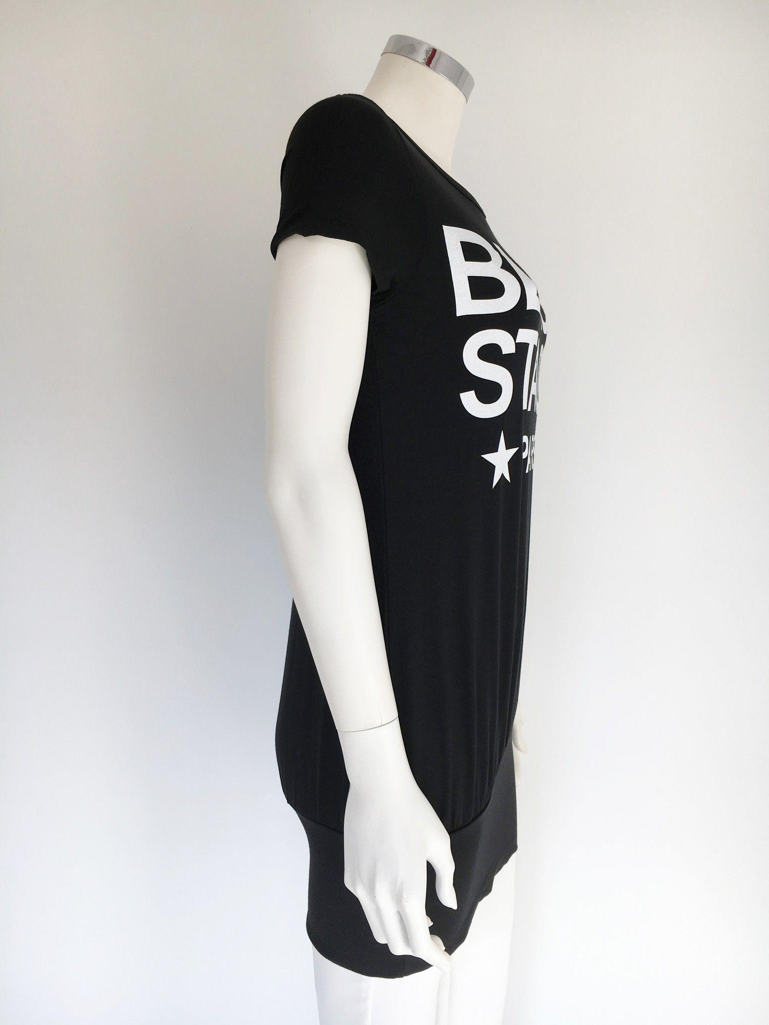 "T-Shirt LadyBug Lunga ""Black Stage"" Cod.0325"