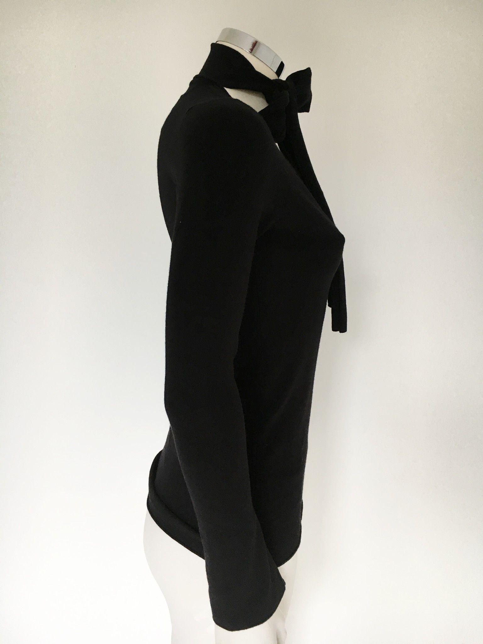 Maglia LadyBug Scollo a V Con Fiocco Slim Fit Cod. 2176Q