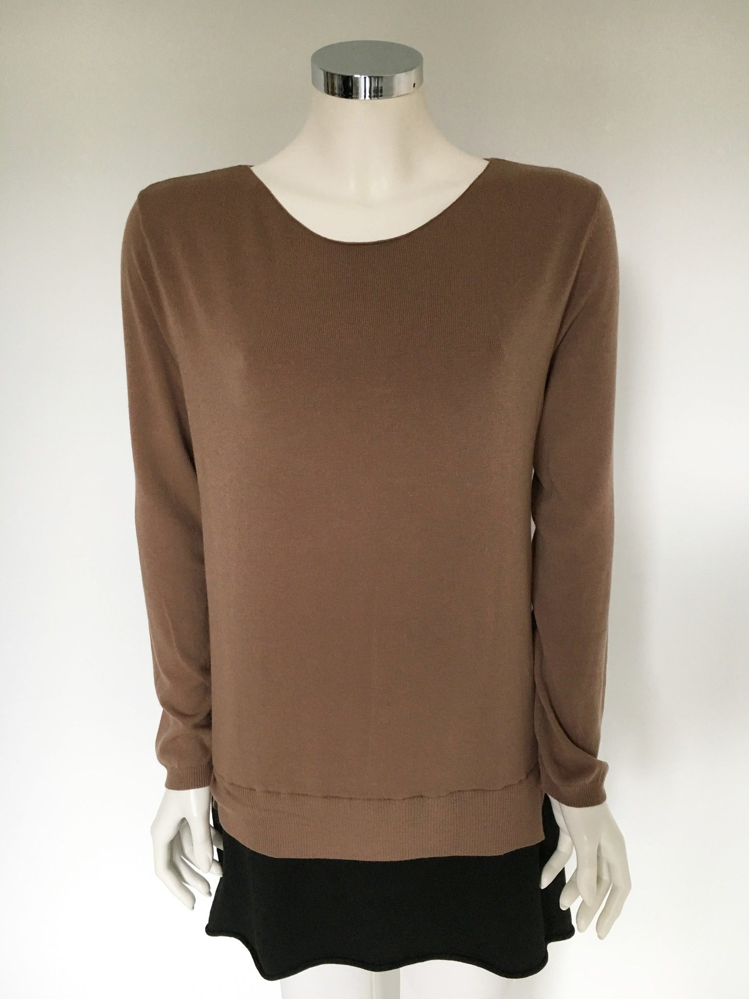 Sufè Two-Tone Long Sweater Cod.SF1012