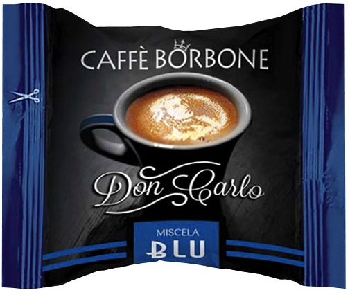 CAFFE' BORBONE - DON CARLO MISCELA BLU - COMPATIBILE LAVAZZA A MODO MIO