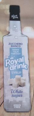 ROYAL DRINK - SCIROPPO DI ZUCCHERO DI CANNA - KG. 1