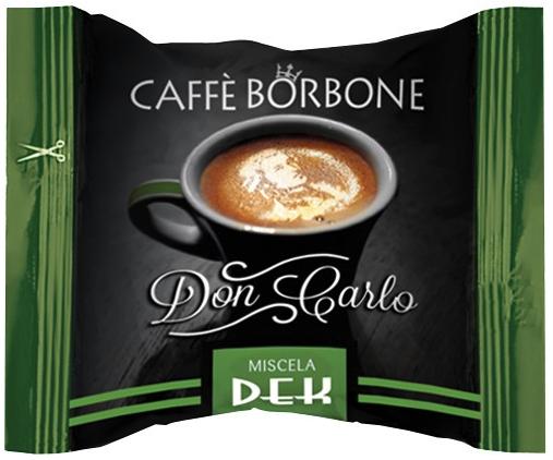 CAFFE' BORBONE - MISCELA VERDE DECAFFEINATO - COMPATIBILE LAVAZZA A MODO MIO
