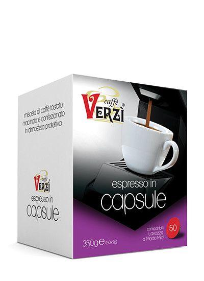 CAFFE' VERZI RICCO COMPATIBILI LAVAZZA A MODO MIO - CAPSULE 50