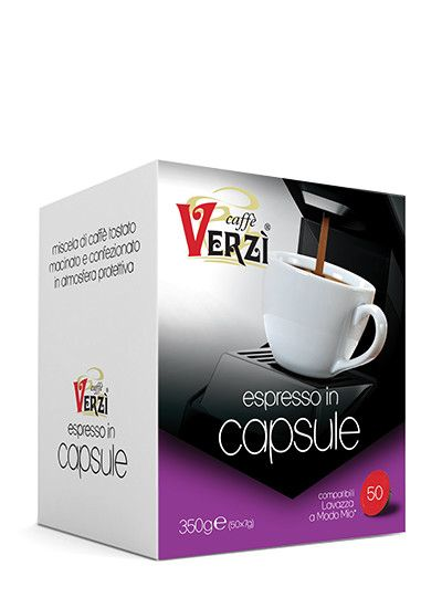 CAFFE' VERZI INTENSO COMPATIBILI LAVAZZA A MODO MIO - CAPSULE 50