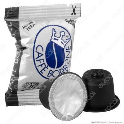 CAFFE' BORBONE - MISCELA NERA - COMPATIBILE NESPRESSO