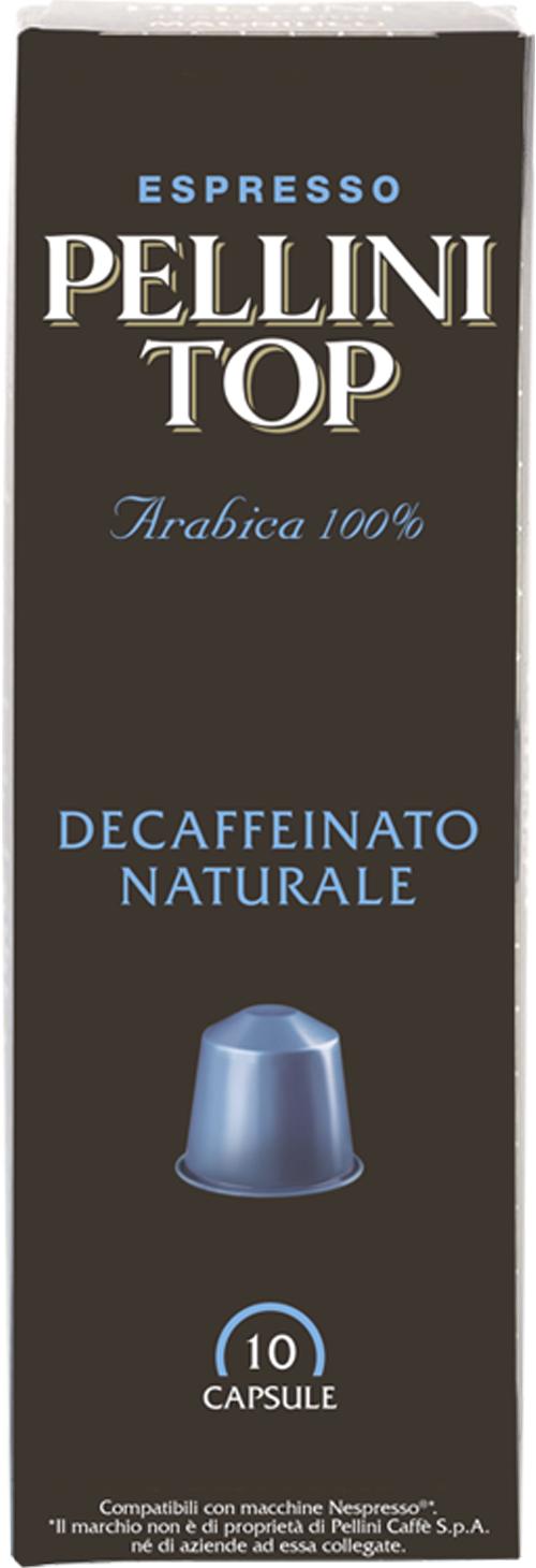 CAFFE' PELLINI DECAFFEINATO COMPATIBILI NESPRESSO - CAPSULE 10