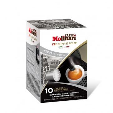 CAFFE' MOLINARI ESPRESSO ARABICA COMPATIBILI NESPRESSO - CAPSULE 10