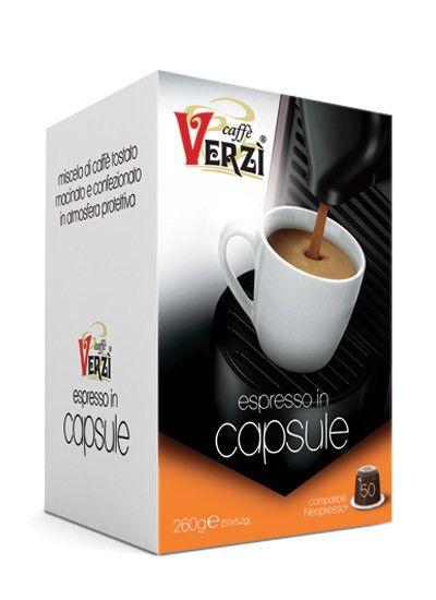 CAFFE' VERZI INTENSO COMPATIBILI NESPRESSO - CAPSULE 50