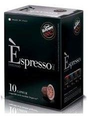 ESPRESSO VERGNANO CAFFE' INTENSO COMPATIBILI NESPRESSO - CAPSULE 10
