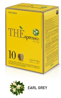 ESPRESSO VERGNANO EARL GREY COMPATIBILI NESPRESSO - CAPSULE 10